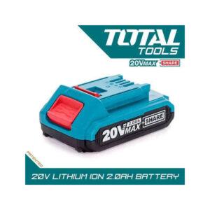 20v 2.0Ah Rechargeable Li ion Battery Pack Total Brand TFBLI2001 MR Enterprise