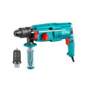 220 240V 800W 1200rpm 3 In 1 Rotary Hammer Drill Machine Total Brand TH308268 2 01 MR Enterprise