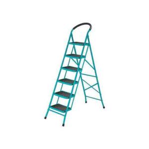 6 Step Steel Ladder Total Brand THLAD09061 MR Enterprise