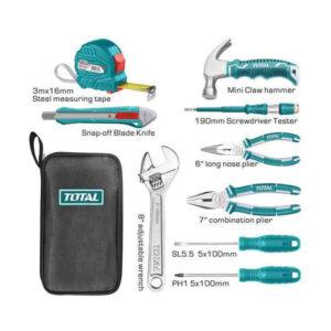 9 Pcs Hand Tool Set Total Brand THKTHP90096 MR Enterprise